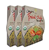 Healthee Organic Brown Rice Bowls 7.6 oz - Fried Rice Flavor - 3 Pack