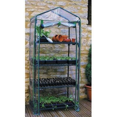 - Cover 4 Tier Mini Greenhouse