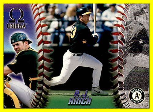 1998 Pacific Omega #178 A.J. Hinch oakland a's athletics Currently Manager 2017 World Series Champion Houston -