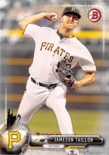 2017 Bowman #61 Jameson Taillon Pittsburgh Pirates Baseball Card