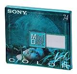 SONY ~ Blank Minidisc ~ 74 Minutes - MDW-74AN (Emerald Green)