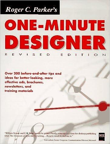 Parkers One-Minute Designer Roger C