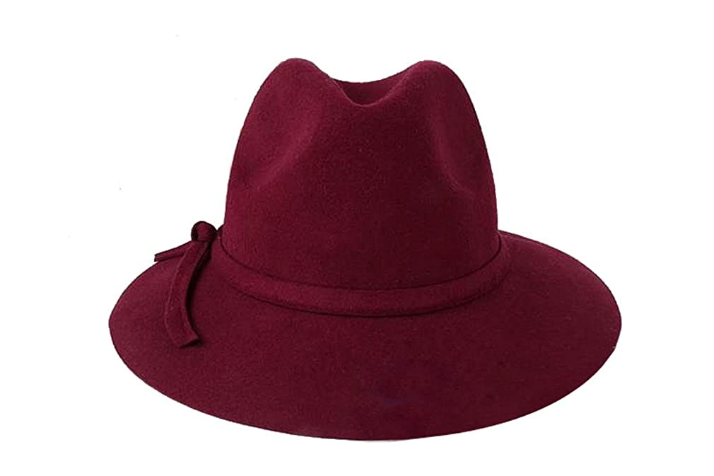 7dd0e5acb Pierre LaMarreDS Elegant Ladies Vintage Winter Hat Bowknot Fedora ...