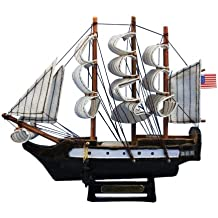 "Hampton Nautical  USS Constitution Tall Ship, 7"""