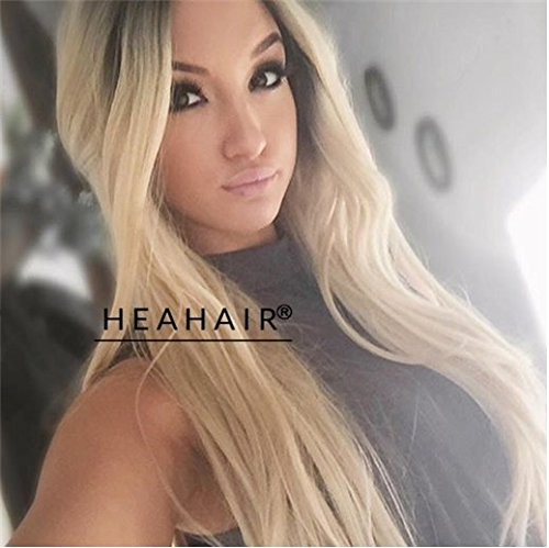 Heahair Natural Looking Ombre Brown Color Affortable Handtied Synthetic Lace front - Target Chicago Locations