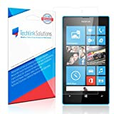 Nokia Lumia 520 Screen Protector (6-Pack), TechLink Solutions UltraClear - Premium HD Crystal Clear Shield /Anti-Bubble & Anti-Fingerprint PET Film with Lifetime Warranty