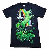 St. Patrick's Day Shandy Mountain Unicorn Graphic T-Shirt