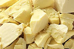 1 Lb Organic Cocoa Butter - Pure Raw Unprocessed Incredible Quality and Scent. Use for Lotion, Cream, Lip Balm, Oil Stick or Body Butter. Organically Grown, NON-GMO By SaaQin imported from Peru