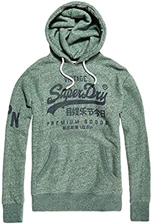 : Superdry Men's Premium Goods Hooded Sweatshirt