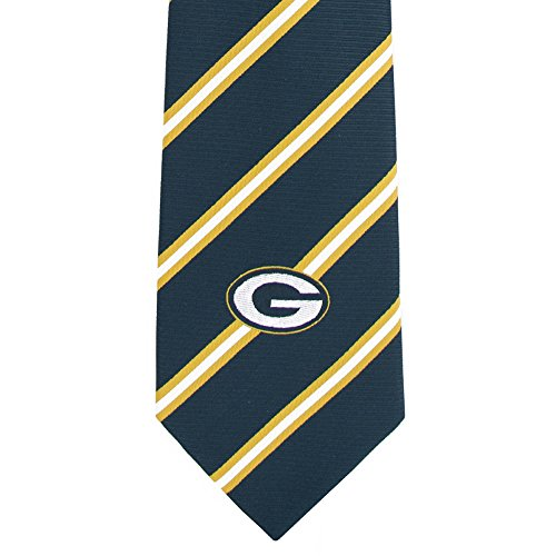 Green Bay Packers NFL Football Neck Ties Stripe NFL Approved License