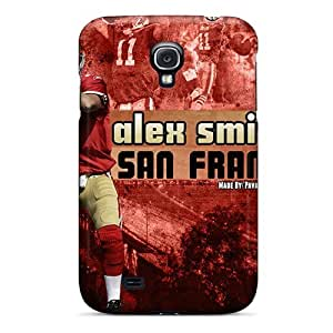 Galaxy S4 Case, Premium Protective Case With Awesome Look - San Francisco 49ers