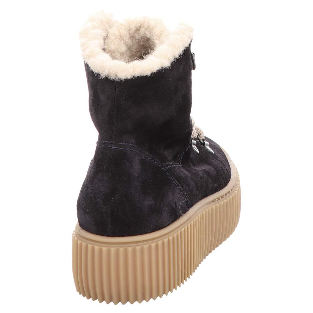 Paul Grün 4663-033 Damen Warmer Stiefel aus 35-mm-Plateausohle Veloursleder mit 35-mm-Plateausohle aus 2cf4b1