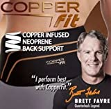COPPER FIT BACK PRO AS SEEN ON TV COMPRESSION LOWER BACK SUPPORT NEW