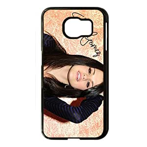 Selena Gomez Black Phone Case for Samsung S6
