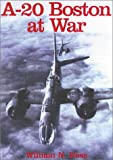 A-20 Boston at War, William N. Hess, 0711009651