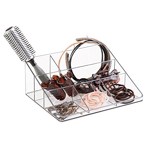 mDesign Hair Care and Accessories, Organizer for Bathroom...