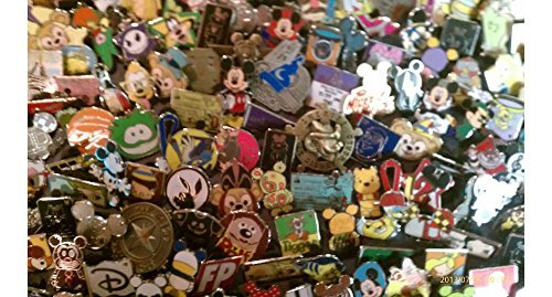 Disney Trading Pins-Lot of 25-No Duplicates-LE-HM-Rack-Cast-Free - Disney Pin Lot 25