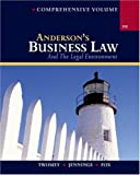 img - for Anderson's Business Law and The Legal Environment, Comprehensive Volume by David P. Twomey (2004-05-28) book / textbook / text book
