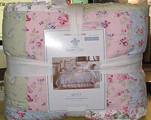 - Simply Shabby Chic® DITSY PATCHWORK Quilt - FULL/QUEEN QUILT