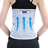 LPY-Adjustable Lumbar Support , Lumbar Device Protection Belt Breathable Widen 33cm , L