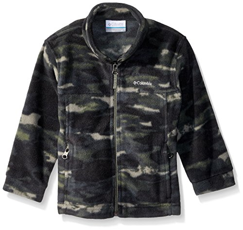 Columbia Boys' Toddler' Steens Mt Ii Fleece, Cypress camo, -