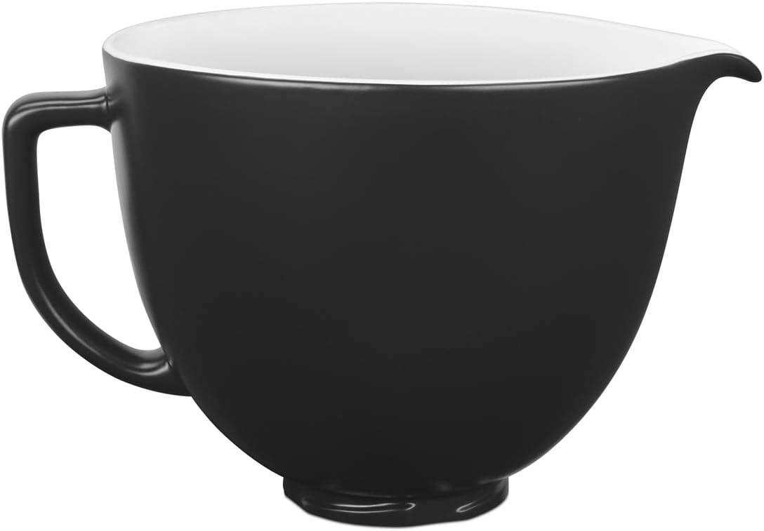 KitchenAid 5 ksm2cb5bm cerámica cuenco 4,8 L de mate, color negro ...