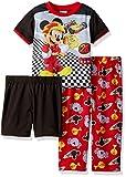 Disney Toddler Boys' Mickey Mouse 3-Piece Pajama Set