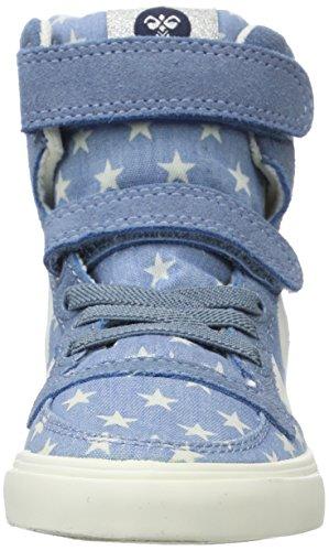 Hummel Slimmer Stadil Star Jr, Zapatillas Altas Unisex Niños Azul (Blue)