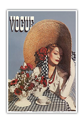 Fashion Magazine - Summer 1938 - Vintage Magazine Cover by Horst P. Horst c.1938 - Master Art Print 13in x 19in