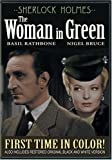 Sherlock Holmes and the Woman in Green (Colorized / Black and White)