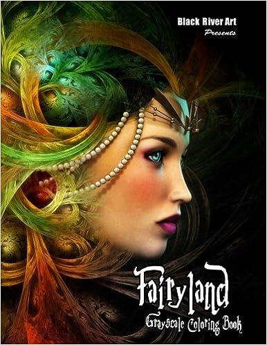 Amazon Fairyland Grayscale Coloring Book 9781975991524 Karlon Douglas Books