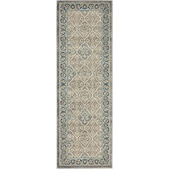 Amazon Com Luxury Vintage Persian Design Meshkabad Rug