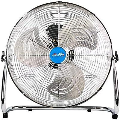 Ventilador eléctrico para el piso casero que coloca el ventilador eléctrico silencioso del ventilador eléctrico industrial (Tamaño : 12inch): Amazon.es: Bricolaje y herramientas