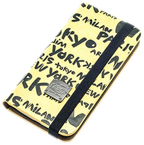 QIOTTI Book Slim Urban World Case für Apple iPhone 5C Gelb