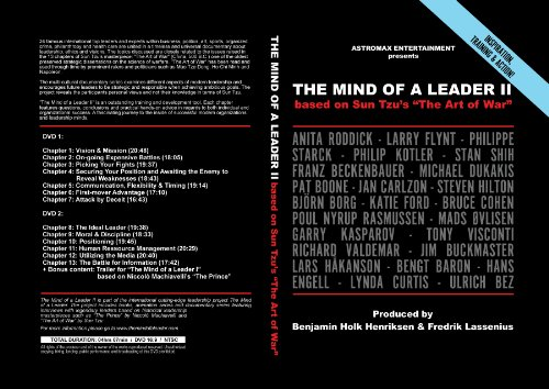 The Mind of a Leader of a Leader II based on Sun Tzu's 'The Art of War' ()