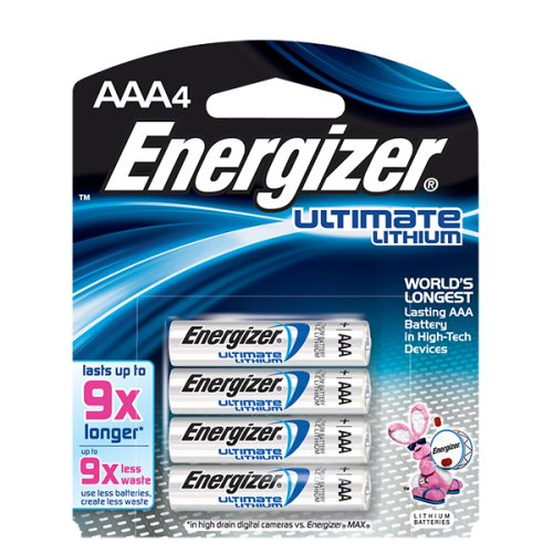 Lithium Batteries Energizer Ultimate Pack