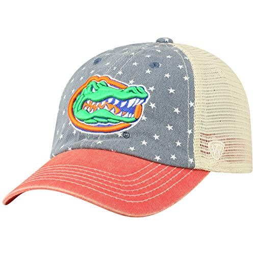 Top of the World Florida Gators Men's Hat Icon, Navy, Adjustable