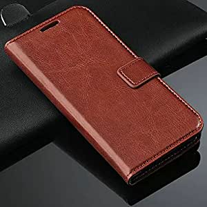 Vintage Wallet PU Leather Case for HTC Butterfly 2 II B810X Flip Cover Luxury Stand Case with 2 Card Holders --- Color:rose case