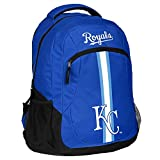 MLB Kansas City Royals Action Backpack Sports Fan Home Decor, Blue, One Size