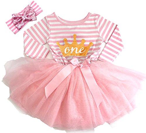baby 1 birthday dress - 1
