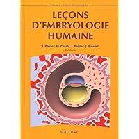 Leçons d'embryologie humaine