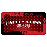 Chroma Graphics 42527 Red and Black Plastic Harley Quinn Frame