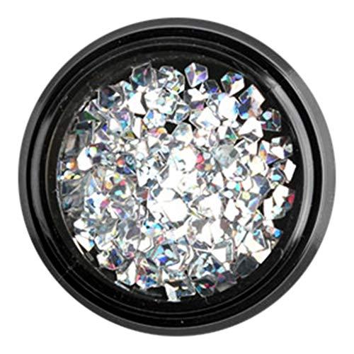 - Nail Art 3D Diamond Glitter Decorations,Landscap Colorful Nails Decor Accessories Supplies (I)