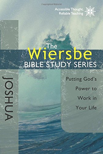 Read Online The Wiersbe Bible Study Series: Joshua: Putting God's Power to Work in Your Life PDF