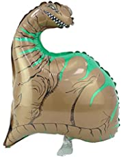 GRABO 26 Inch Dinosaur Foil Balloon in Brown and Green