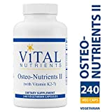 Vital Nutrients – Osteo-Nutrients II (with Vitamin K2-7) – Bone Support Formula With Boron – Gluten Free – 240 Capsules