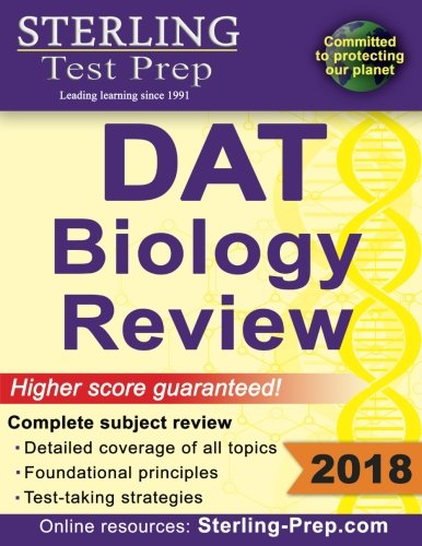 Sterling Test Prep DAT Biology Review: Complete Subject Review