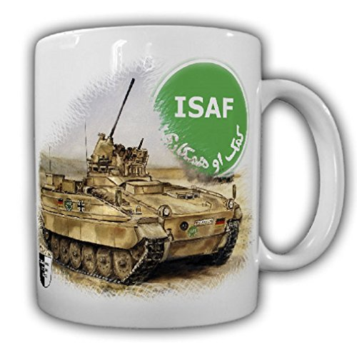 Lukas Wirp Marder tank grenadier Kunduz Bundeswehr ISAF mission in Afghanistan Art Print Veteran PzGrenBtl Protect - Coffee Cup Mug