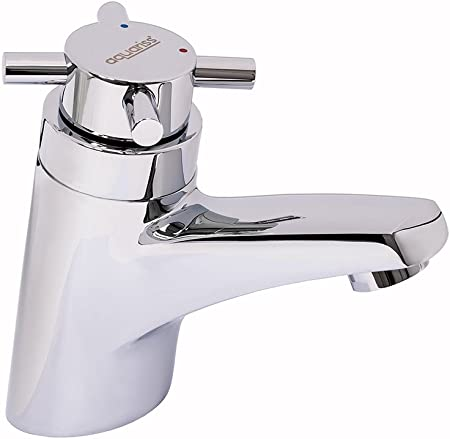 Chrome Thermostatic Basin Faucet Modern