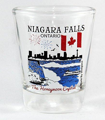 Niagara Falls Ontario Canada Great Canadian Cities Collection Shot - Glasses Falls Niagara